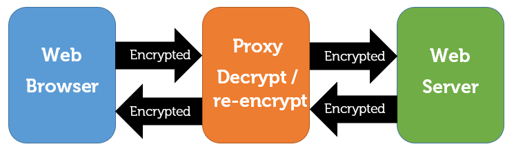 Net Nanny handling encrypted traffic as a proxy