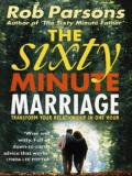 Picture of The Sixty Minute Marriage (Paperback)