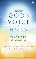 Picture of When God's Voice Is Heard: The Power of Preaching (Paperback)