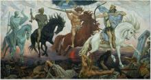 Four Horsemen of Apocalypse by Viktor Vasnetsov