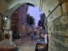 The old city of Jerusalem, Muslim Quarter