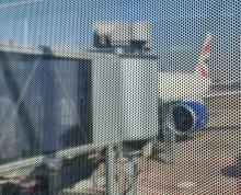 Tel Aviv airport gate
