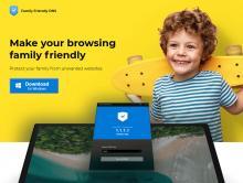 Screenshot of familyfriendlydns.com as at 2nd Aug 2019
